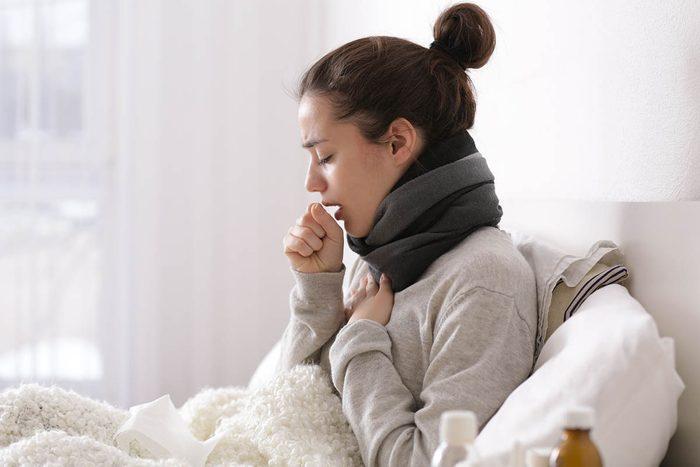 Différents types de toux existent.