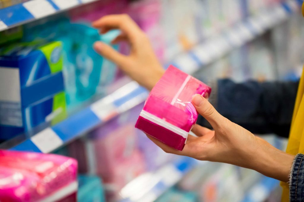 Avoir de légères pertes de sang peut être une signe d'ovulation.