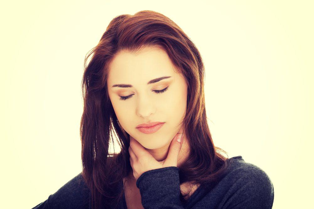 Un mal de gorge persistant peut aussi être lié à un cancer de la gorge.