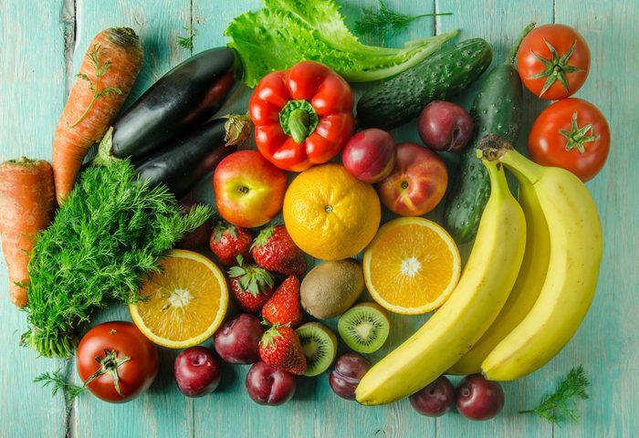 Achats en gros, éviter les fruits et les légumes