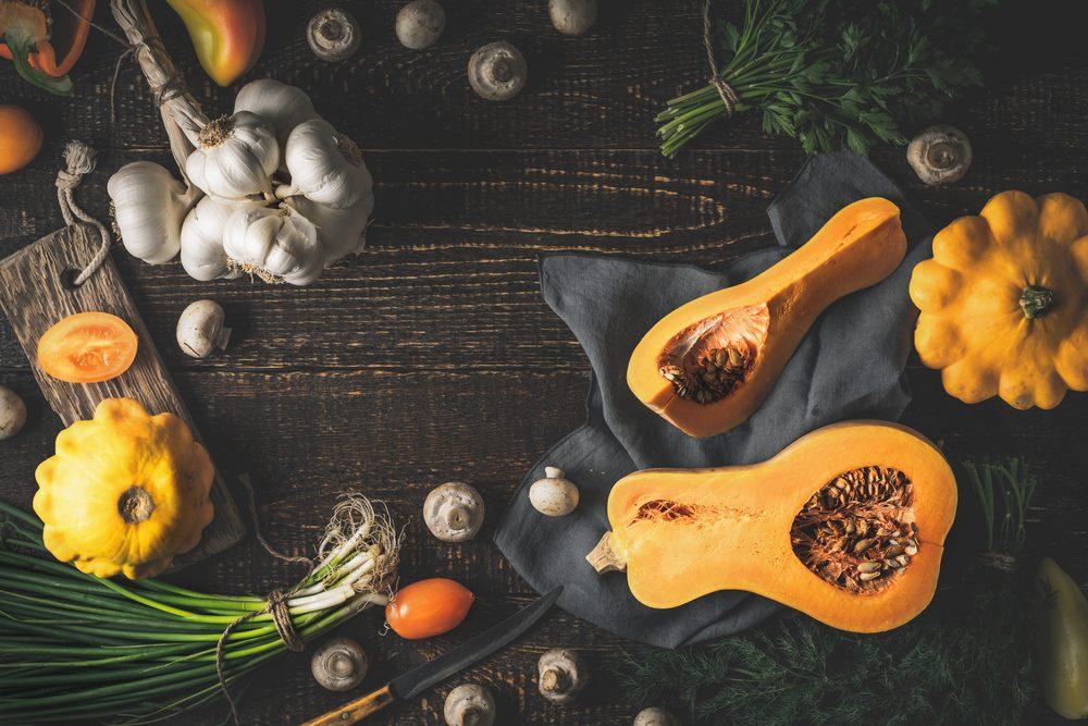 La courge et la courge d'hiver sont des légumes riches en vitamines et en bienfaits.