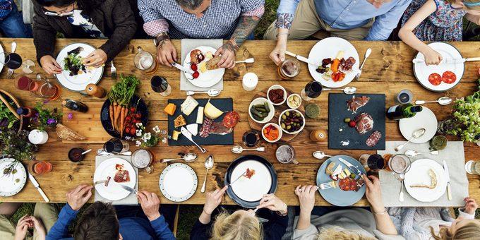 Bienfaits et vertus d'une alimentation variée et équilibrée.