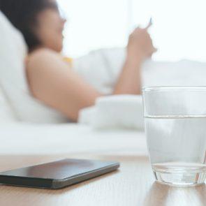 Gastro-entérite: boire beaucoup d'eau
