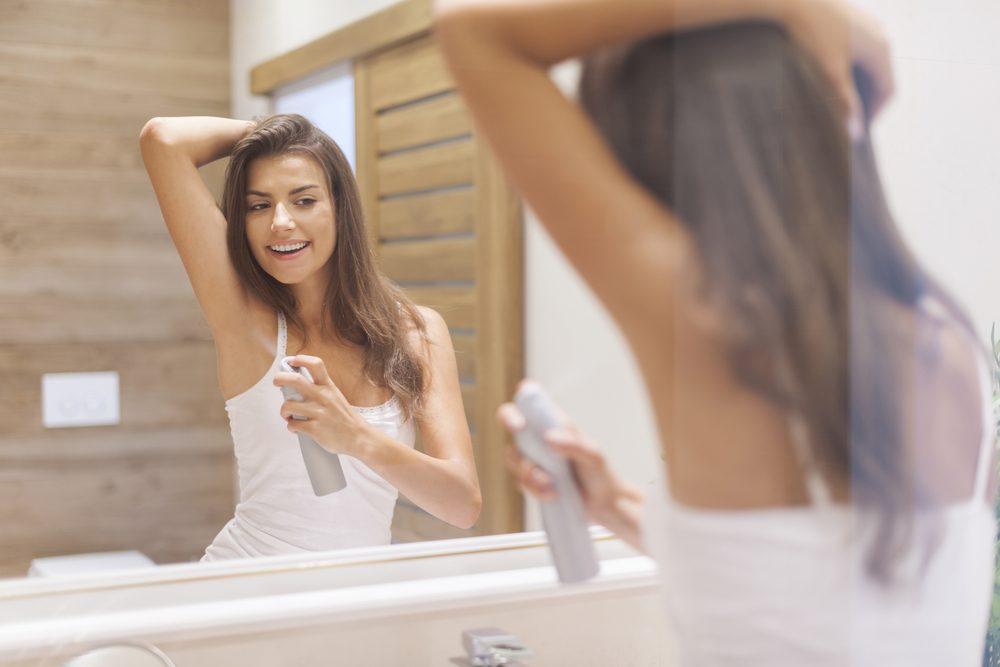 Le déodorant pour hommes peut très bien convenir aux femmes.