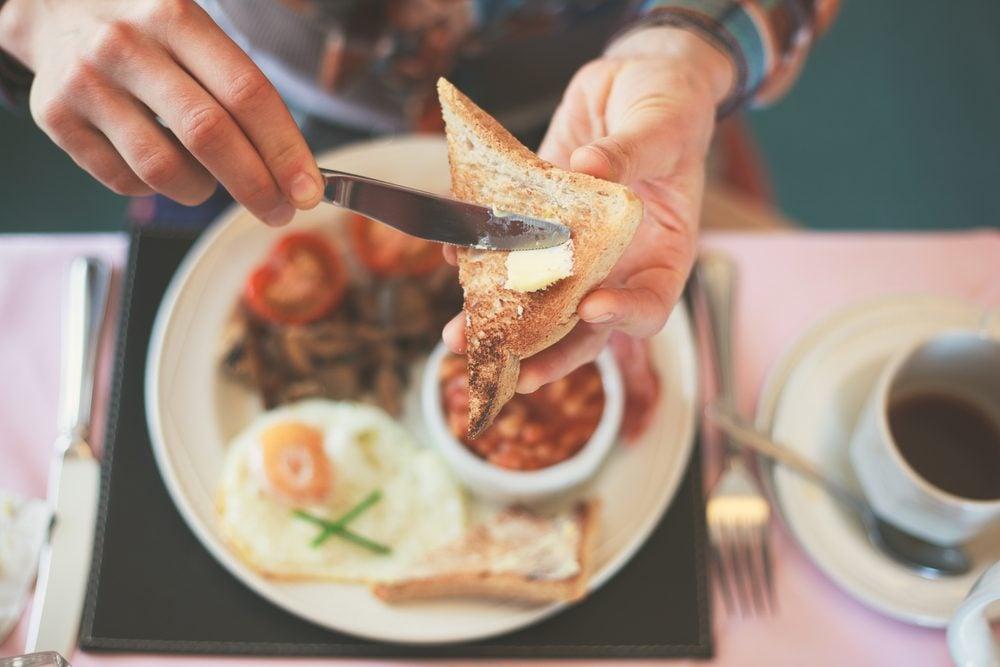 Hépatite: le déjeuner, le repas le mieux tolérer