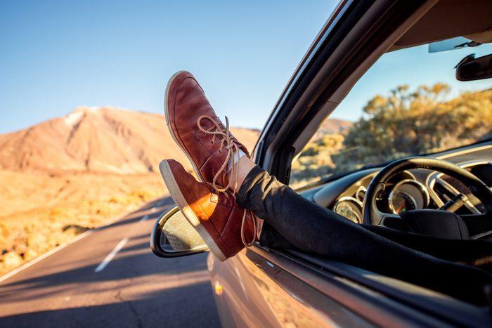 Prévenez la douleur lors de longs voyages en voiture