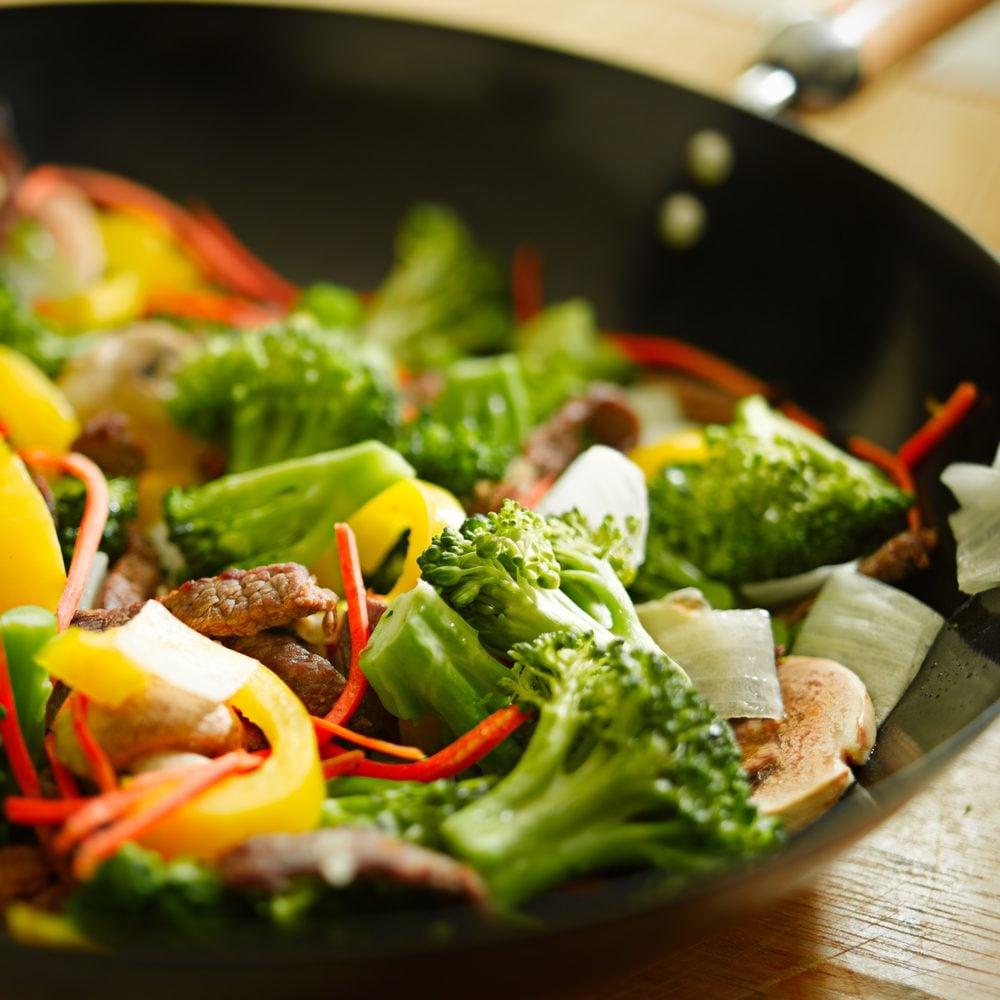 Plats Cuisines Et Aliments Prepares Un Choix Nefaste Ou Sante