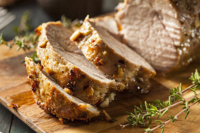 Le porc: une viande riche en protéines et en vitamines.