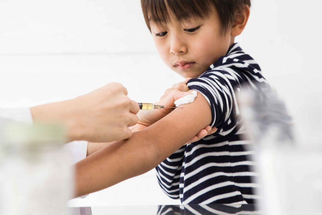 Les enfants peuvent (et doivent!) se faire vacciner.