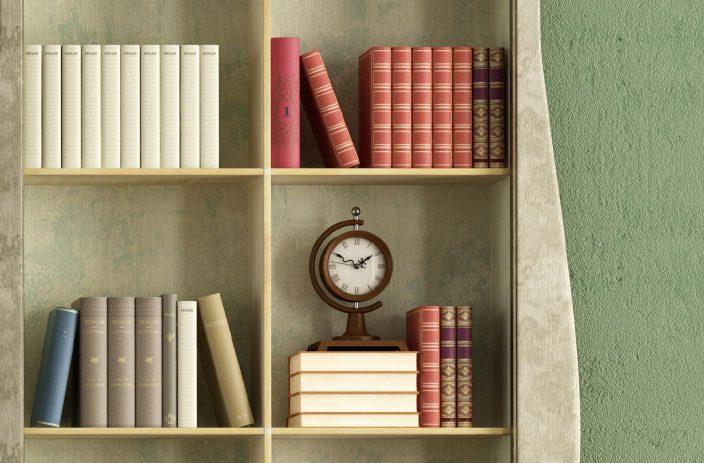 Réorganisez vos étagères pour avoir un décor digne des magasines de design.