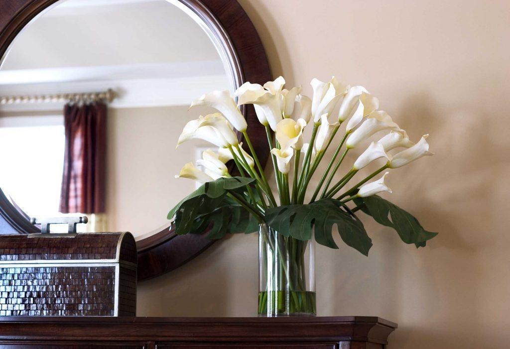 Choisissez soigneusement l'endroit où vous posez vos miroirs.