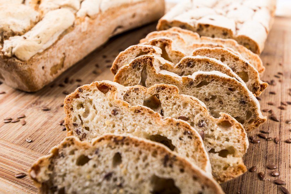 Une intolérance au gluten peut causer des flatulences.