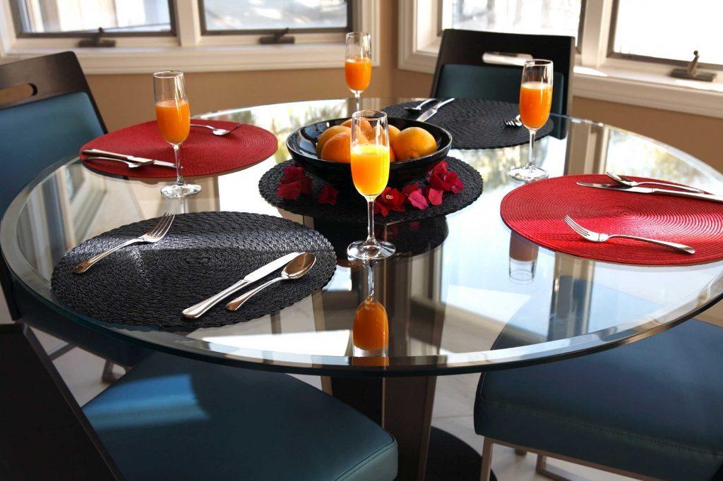 Le choix de la table à manger est très important dans a décoration d'une pièce.