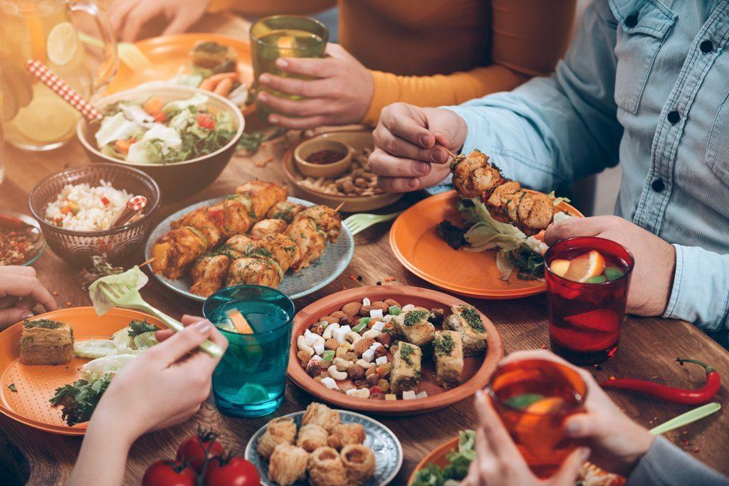 Si vous êtes diabétique, attention de ne pas trop manger.