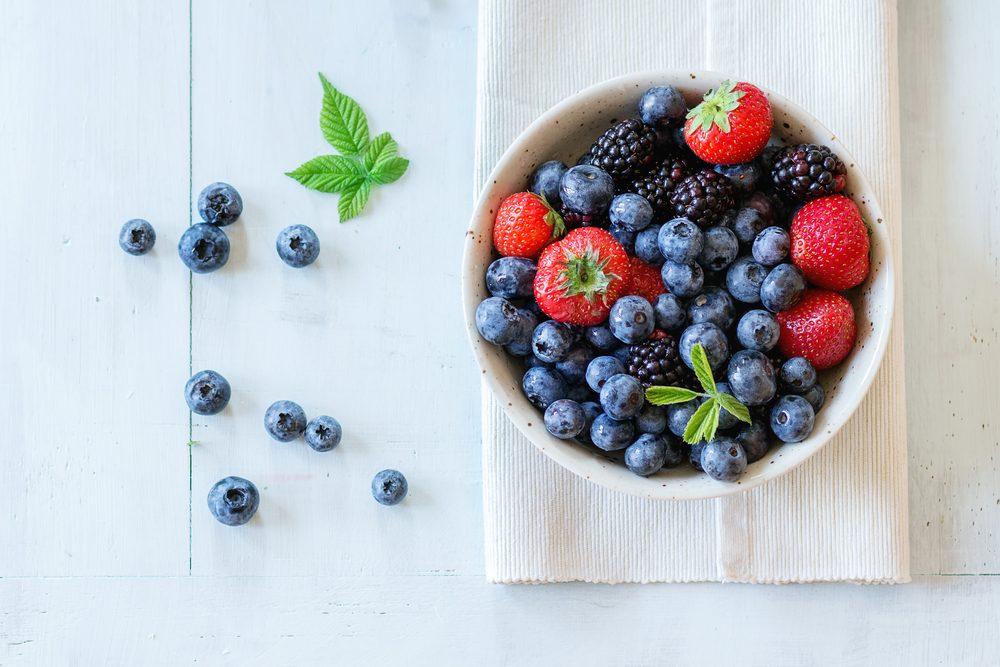 Aliments frais: utilisez du vinaigre pour conserver les baies