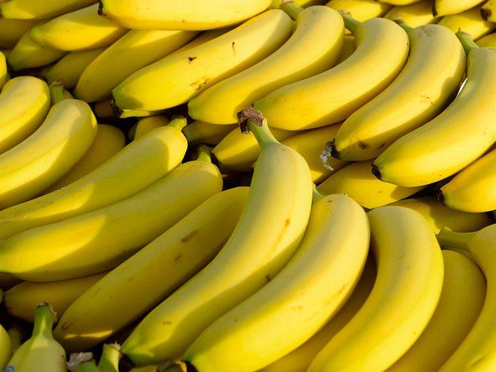 Aliments frais : Détachez les bananes