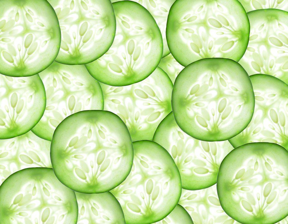 Aliments frais: conservez vos concombres loin des fruits