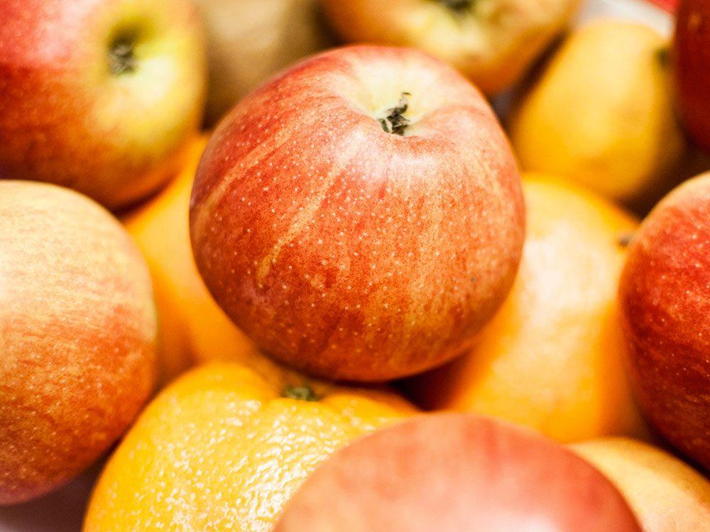 Aliments frais : Séparez les pommes des oranges