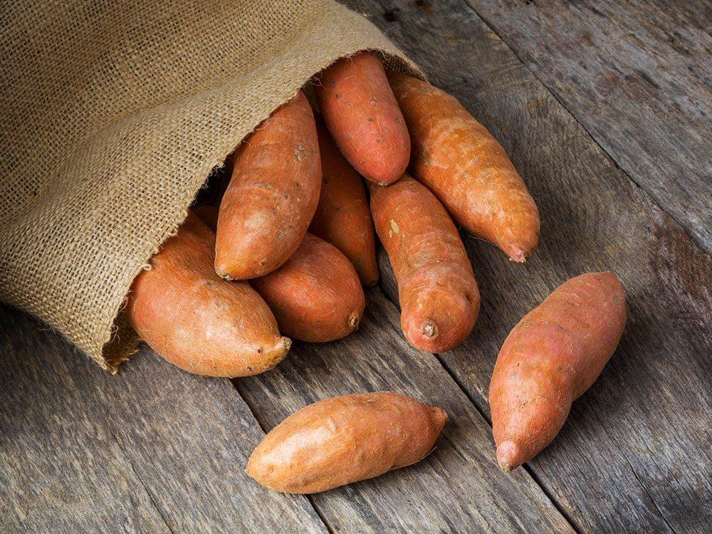 Mettez les légumes racines en sacs