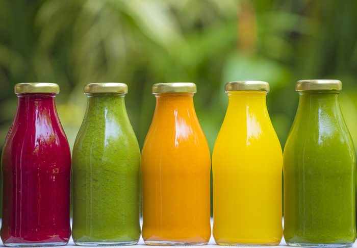 Boisson pour perdre du poids: le jus de légumes