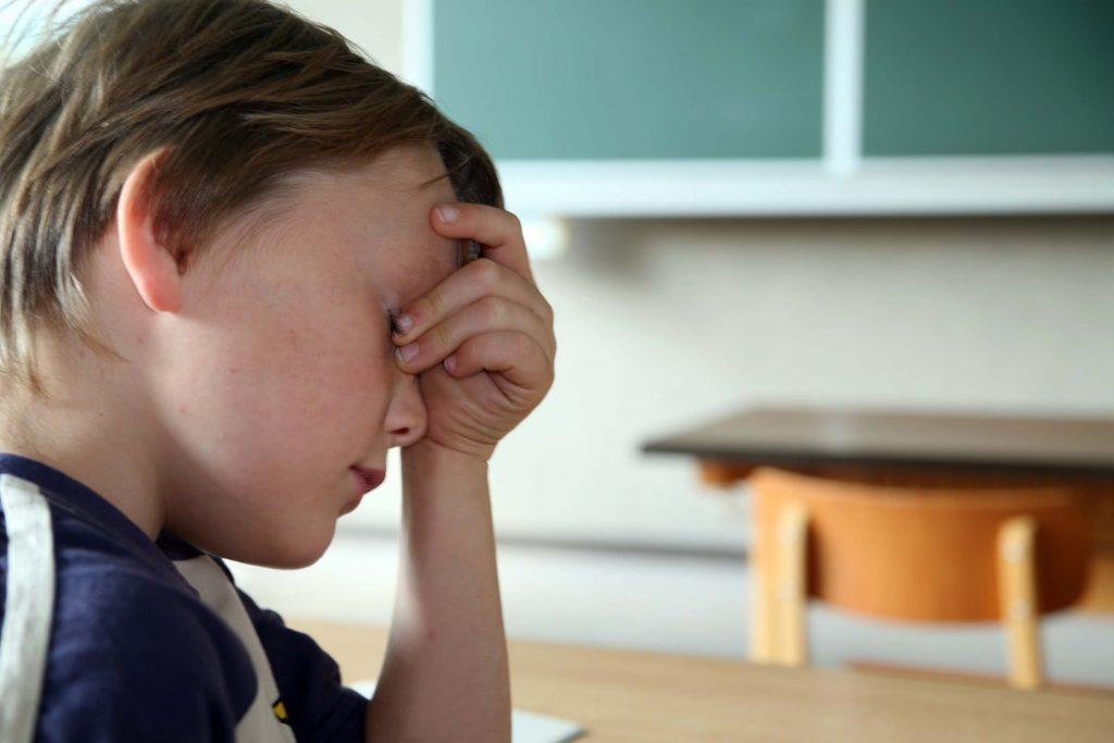 Dépression infantile: votre enfant est toujours fatigué