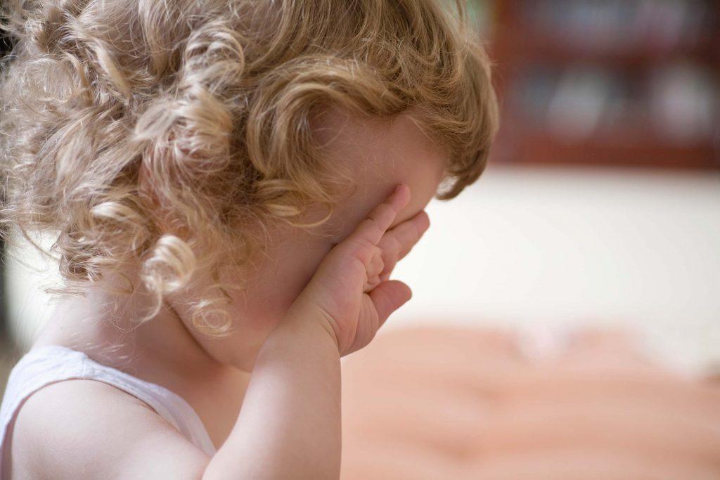 Dépression infantile: votre enfant pleure souvent