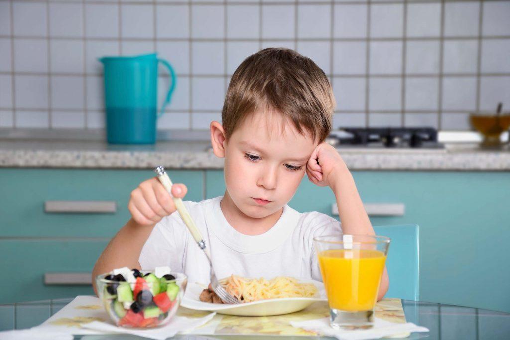 Dépression infantile: votre enfant a de nouvelles habitudes alimentaires