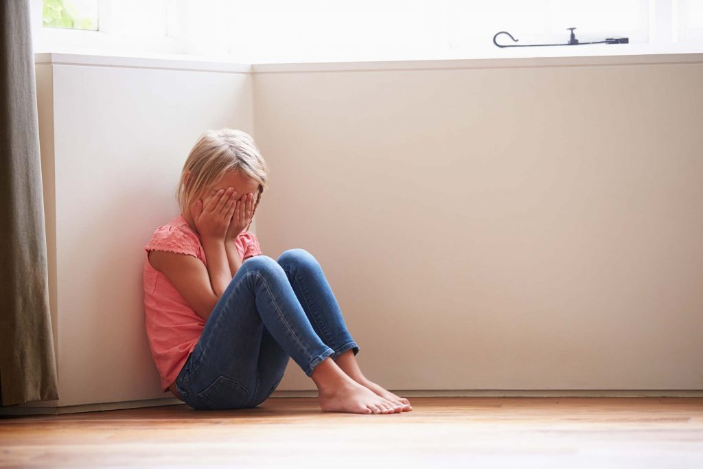 Dépression infantile: inconsolable