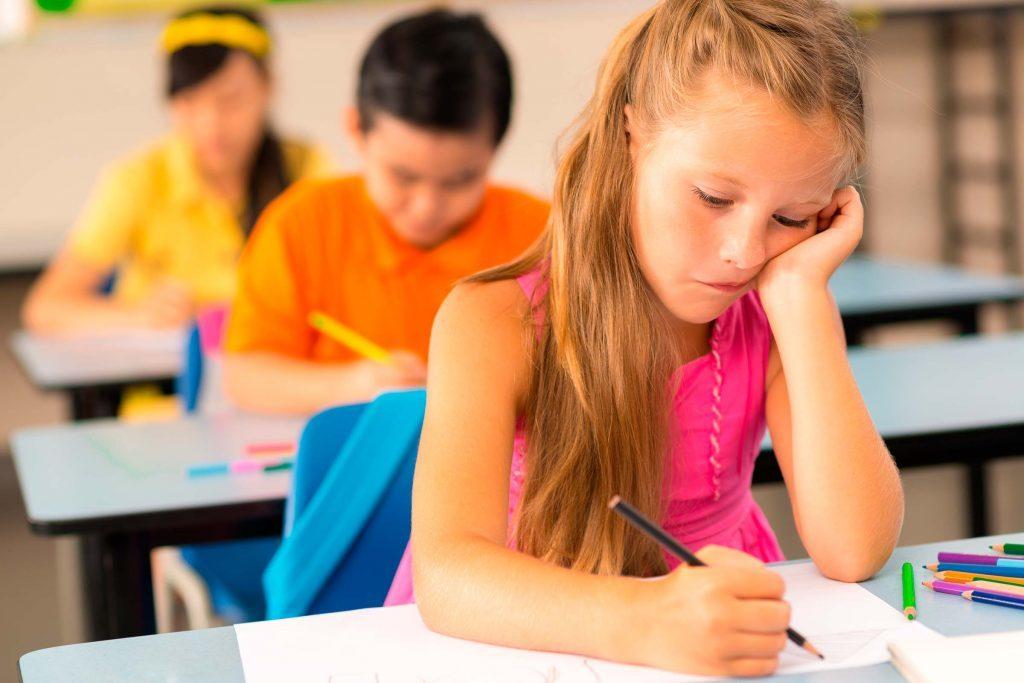 Dépression infantile: votre enfant est indifférent