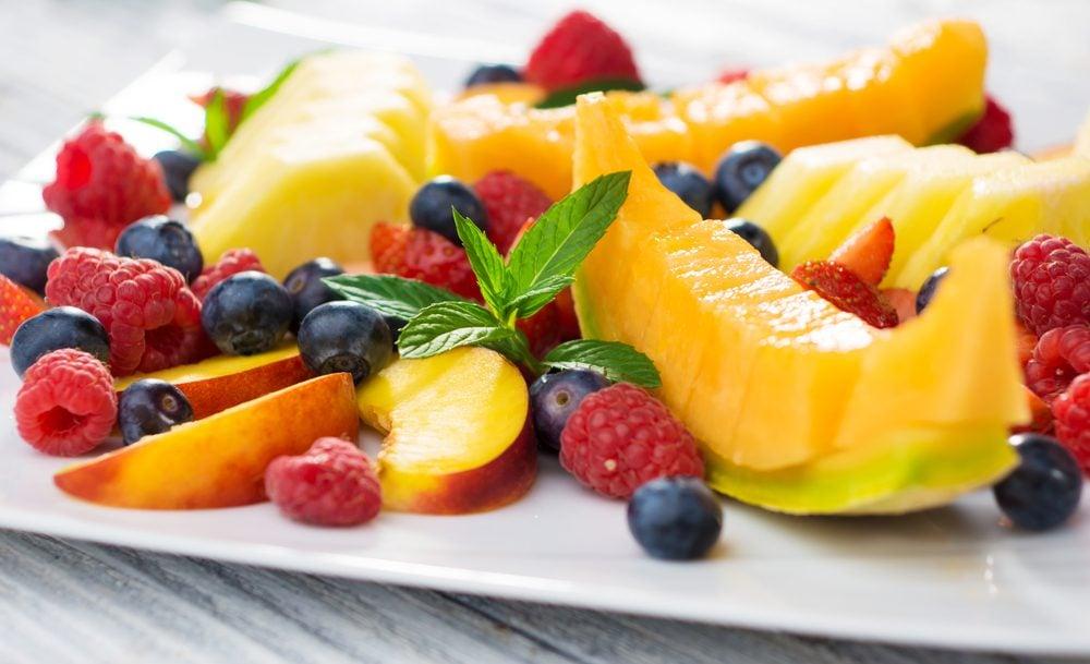 Diminuez le cholestérol avec des fruits