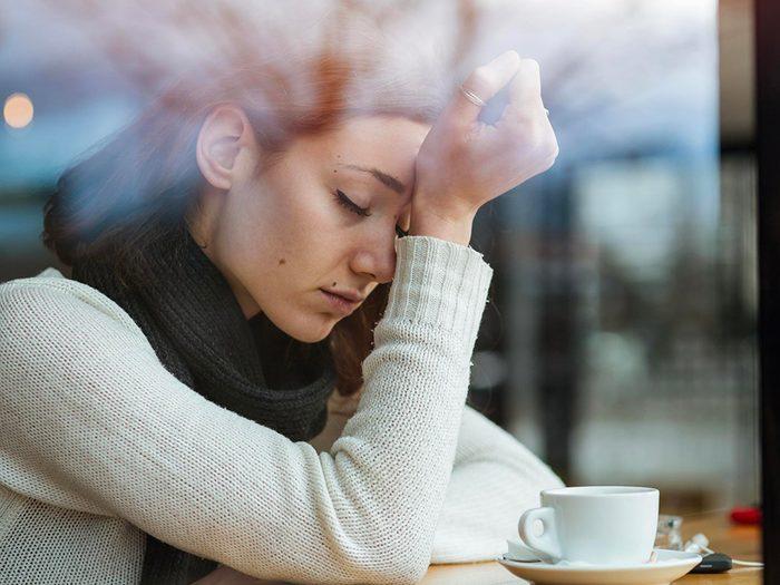 Le manque de sommeil peut vous faire vivre des déprimes.