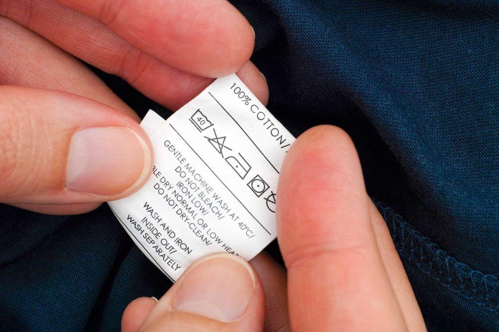 Erreur lavage : ignorer les étiquettes