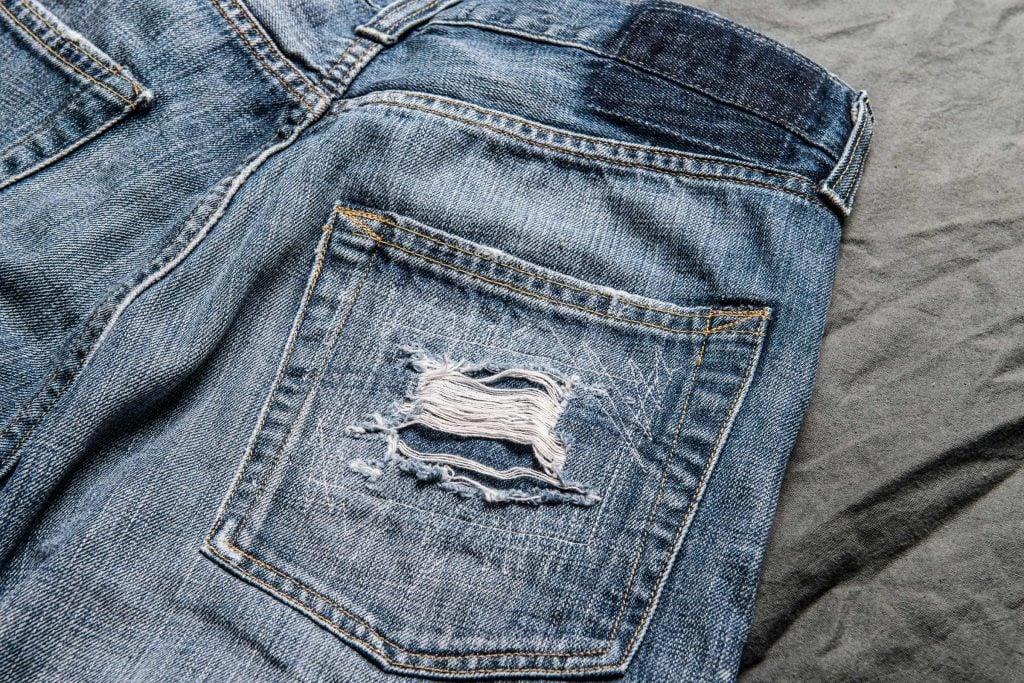 Erreur de lavage: laver ses jeans