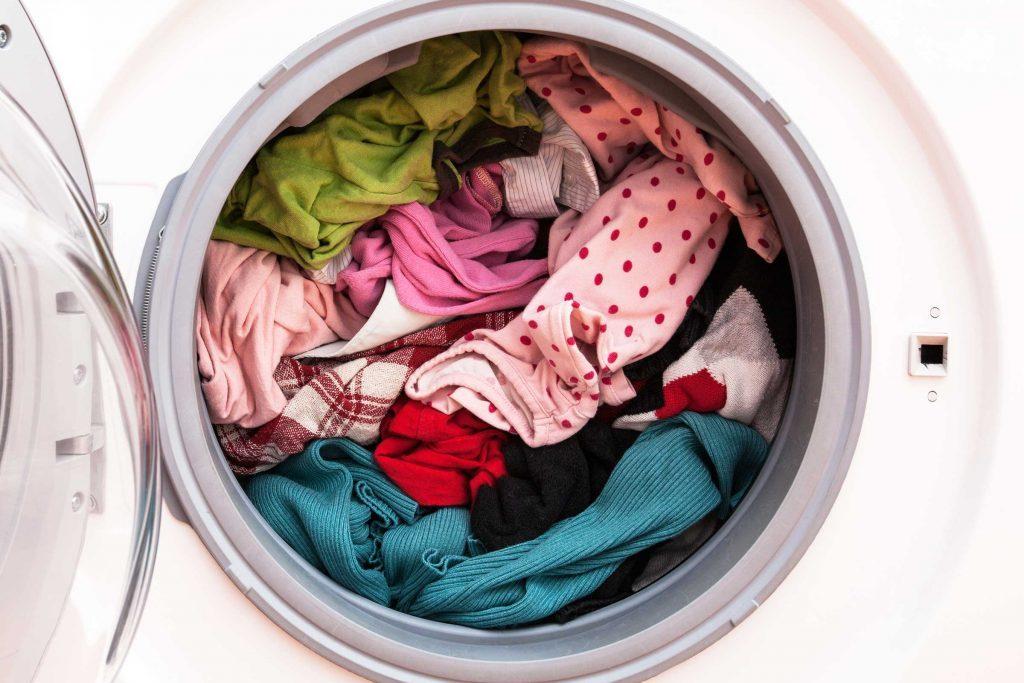 Erreur de lavage: ne pas retourner les vêtements