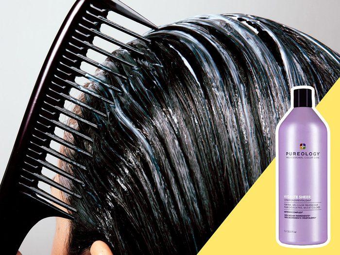 Abuser de l'après-shampoing est l'une des erreurs de coiffure qui donnent l'air plus vieux.