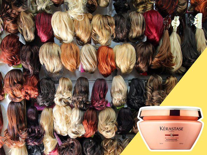 Abuser des extensions et des perruques est l'une des erreurs de coiffure qui donnent l'air plus vieux.