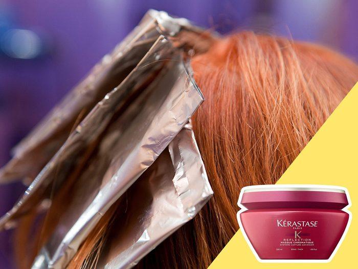 Avoir des mèches au mauvais endroit est l'une des erreurs de coiffure qui donnent l'air plus vieux.