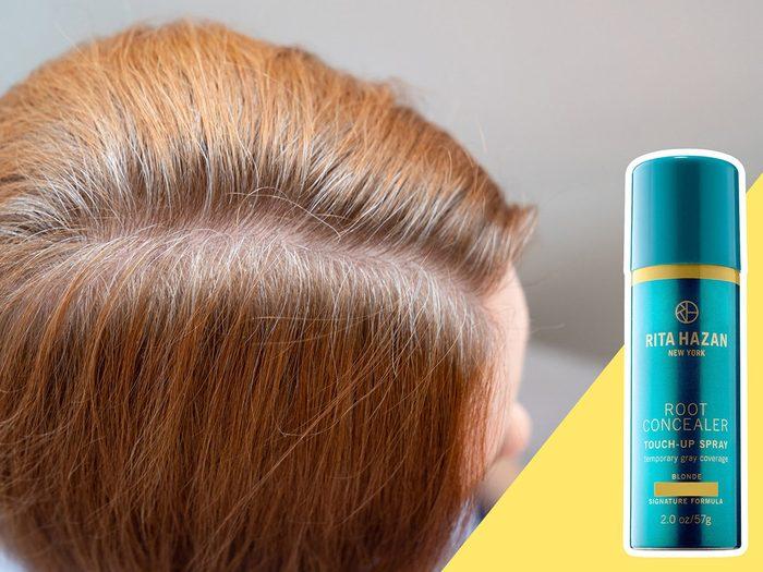 Ne pas faire de retouches à la racine est l'une des erreurs de coiffure qui donnent l'air plus vieux.