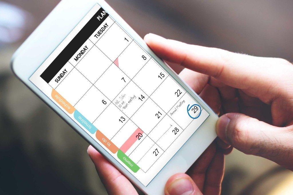 Gérer son temps en utilisant un agenda