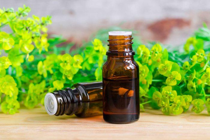 L'huile de cyprès est un astringent puissant qui favorise le resserrement de la peau