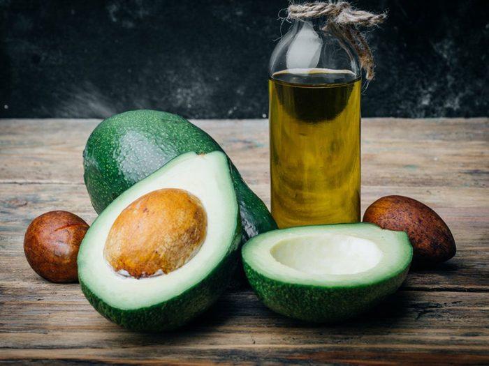 Mangez du bon gras dans le cadre d'un régime alimentaire pour diabétique.