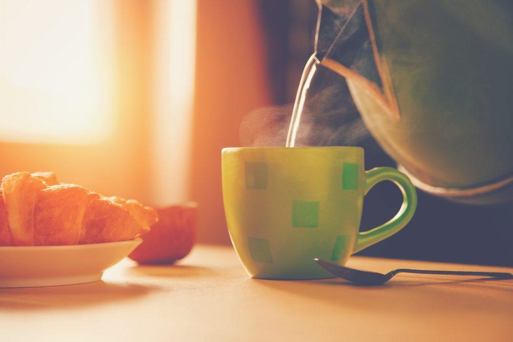 Pour le thé parfait, bien choisir son eau