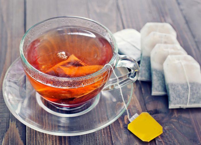Surveillez le temps d'infusion, pour un thé parfait