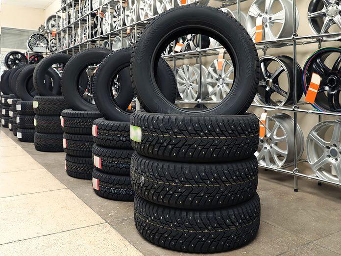 Des garanties prolongées pas toujours nécessaires pour acheter ses pneus.