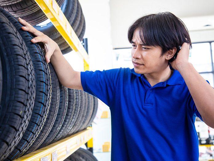 Se poser les bonnes questions avant d'acheter de nouveaux pneus.