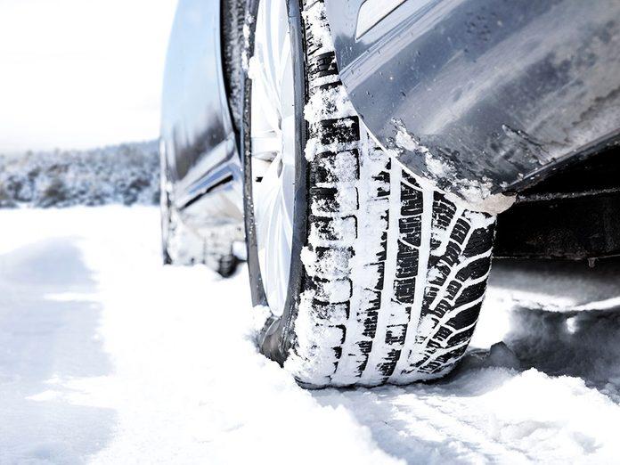 Conseils pour acheter vos pneus d'hiver.