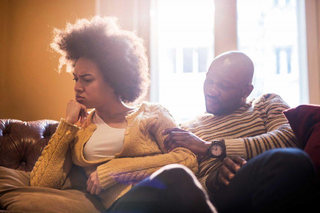 Ne pas prendre personnelle l'anxiété d'un partenaire