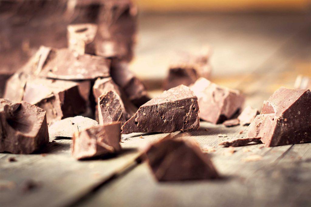 Le chocolat noir est une excellente source de fer