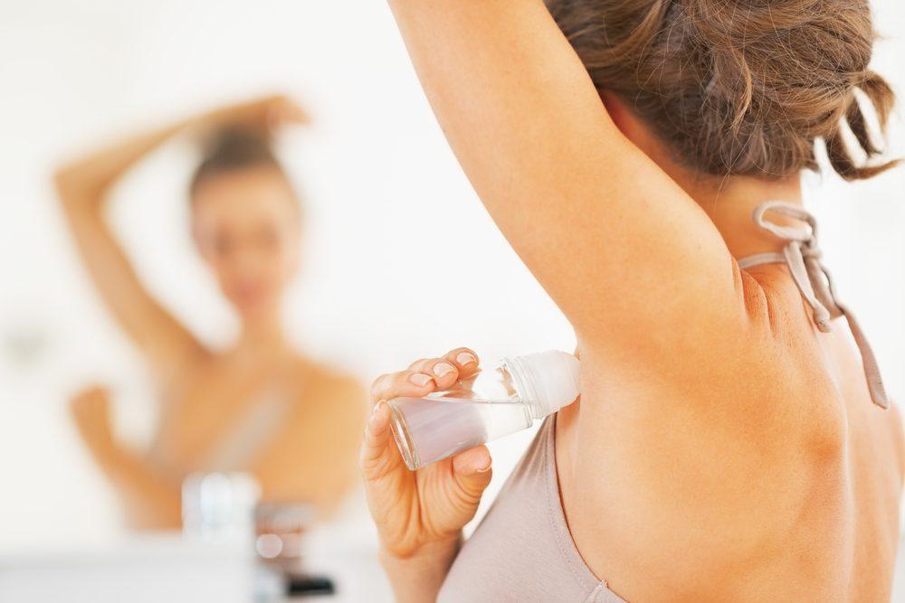 Ne mettez pas de déodorant avant une mammographie