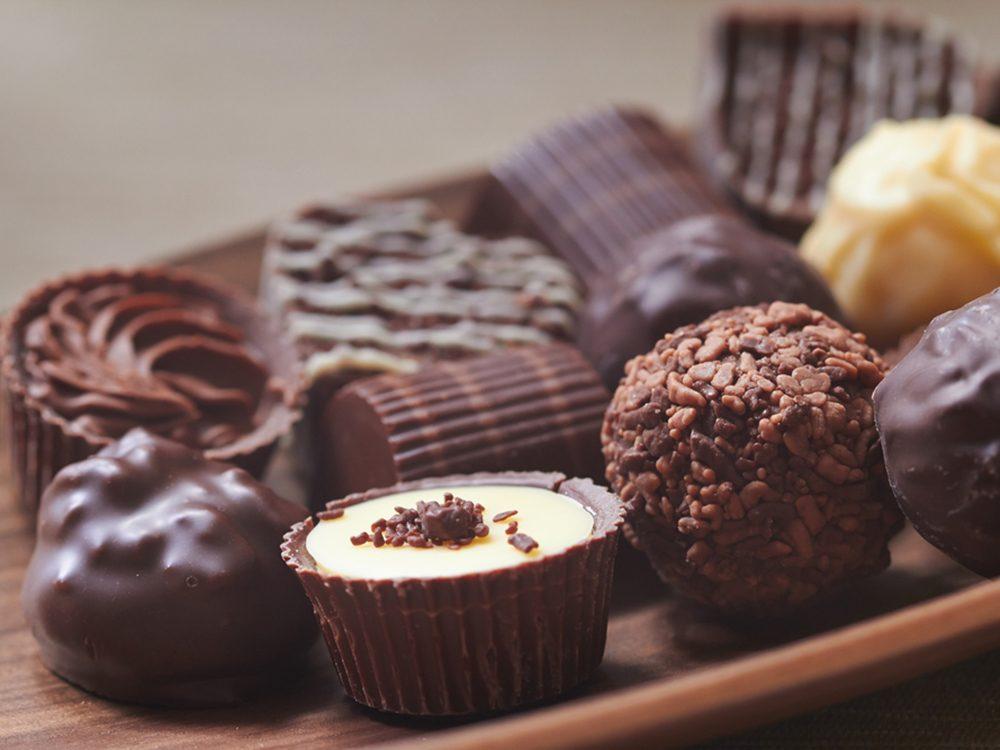 Évitez le sucre, pour rester en santé.